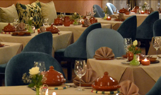 restaurant marocain à casablanca, cuisine internationale